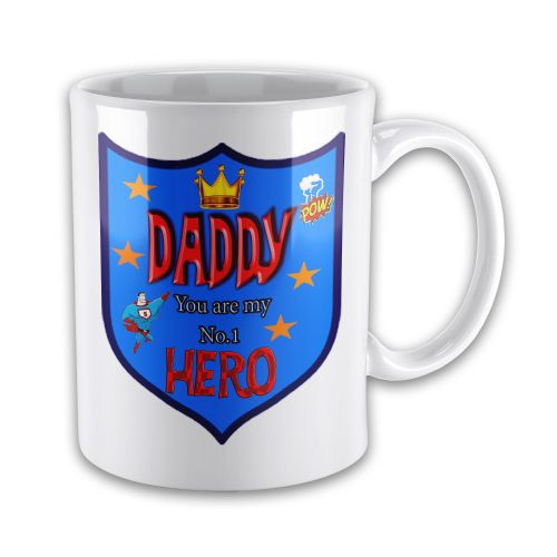 DADDY You Are My Number 1 Hero Novelty Gift Mug